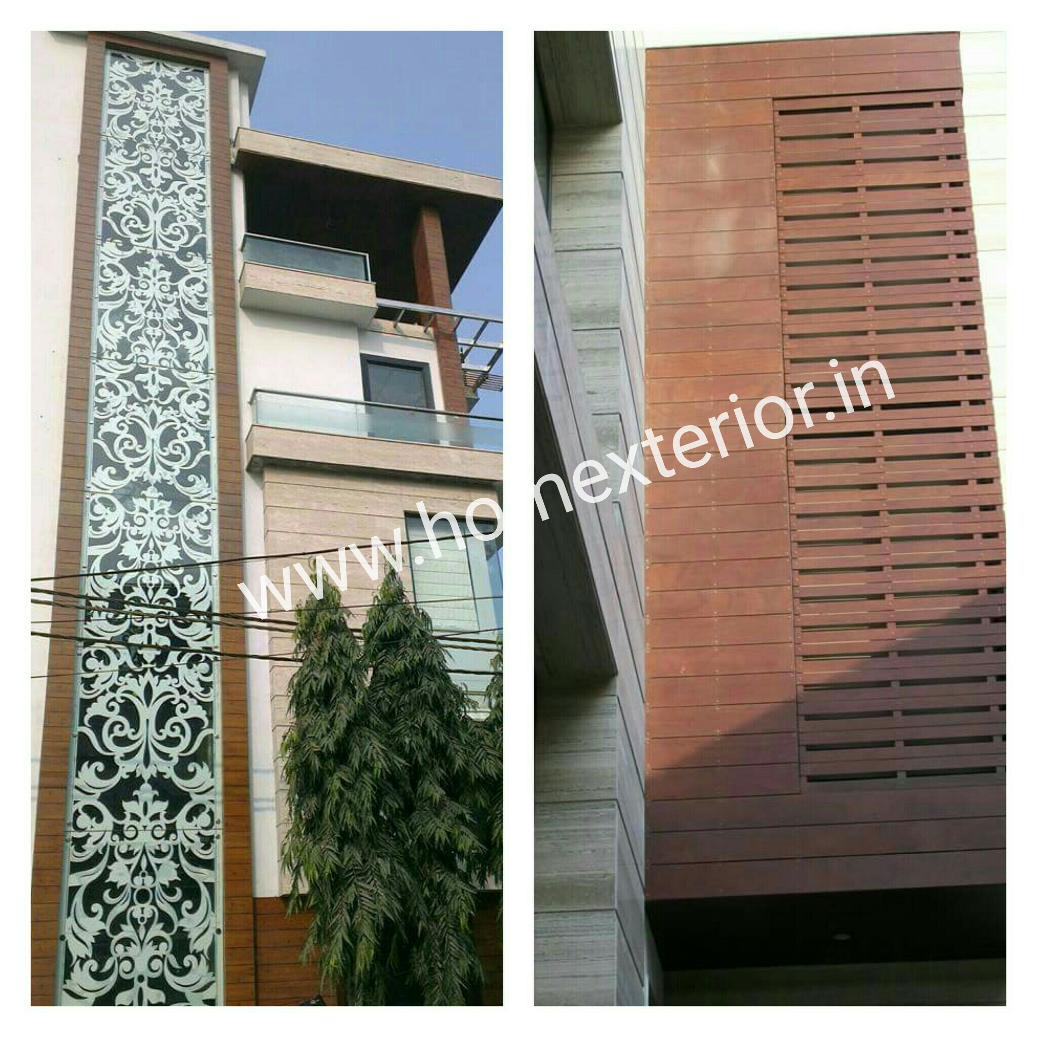 Aluminium Metal Cladding Wooden Finish Manufacturers In Delhi Gurgaon