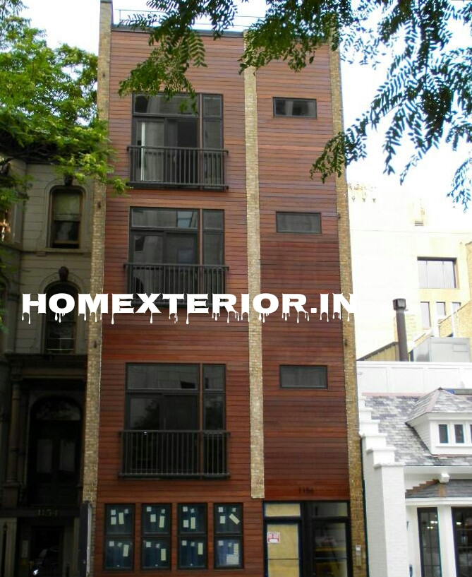 Wood House Elevation : Solid wood house elevation manufacturers in delhi