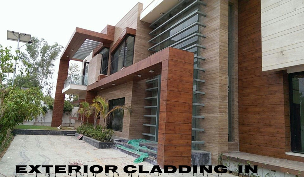 Solid Wood Cladding Elevation Contractors manufacturers suppliers in Delhi Noida Gurgaon